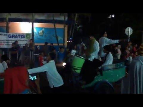 Pawai malam Takbiran di Selatpanjang - Kepulauan Meranti (part 1)