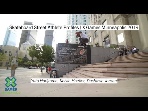 Skateboard Street Athlete Profiles | X Games Minneapolis 2019