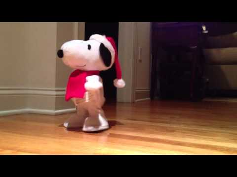 Dancing Snoopy to Peanuts Theme Song