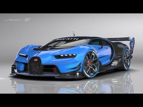 Gran Turismo Sport PS4 - Gameplay Bugatti Vision GT New Tokyo Expressway