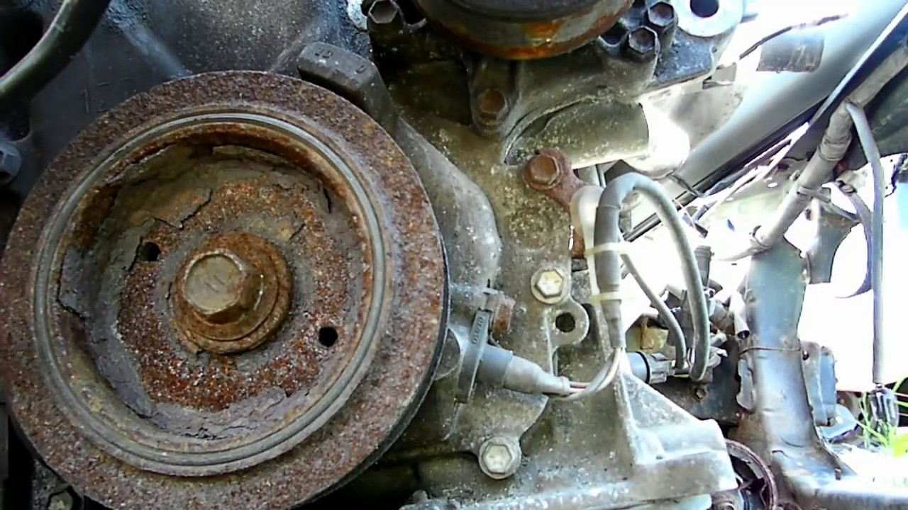 Toyota Corolla Crankshaft Position Sensor Removal - YouTube