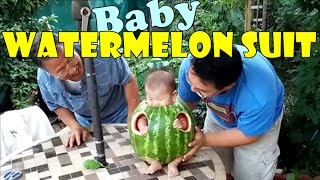 Baby watermelon suit