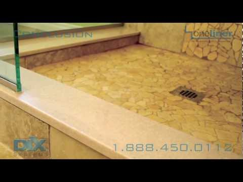 Shower Pan Install Dix Conclusion Dix Systems OneLiner Kit How-To