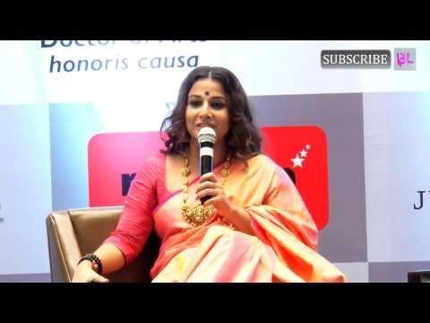 Vidya Balan | Honoured with Doctor of Arts Honoris Causa Degree | Part 4