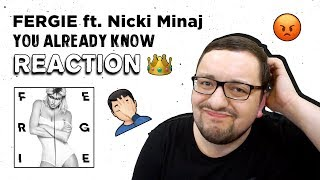 Fergie   You Already Know Ft. Nicki Minaj (RUSSIAN'S Reaction)
