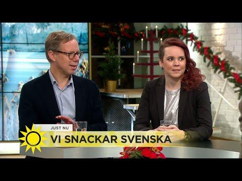 Språkakuten: Blir vi allt sämre på att skriva rätt? - Nyhetsmorgon (TV4)