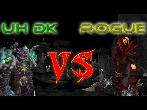 Mists of Pandaria 5.2 PvP: Unholy Death Knight vs Rogue (2x Rank 1 8x Gladiator)