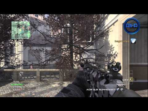 MW3 Multiplayer Gameplay LIVE w/ Ali-A -