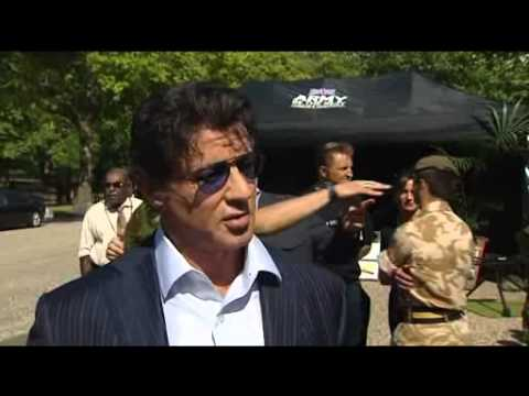 The Expendables - Stallone Interview 09.08.10