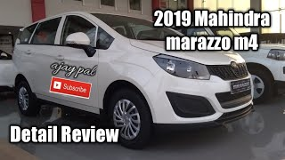Mahindra marazzo m4 2019 detail review