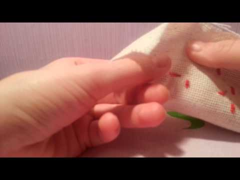 Уроки вышивания для начинающих - видео