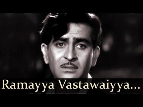 Shree 420 - Ramayya Vastawaiyya Maine Dil  - Mohd Rafi - Lata Mangeshkar