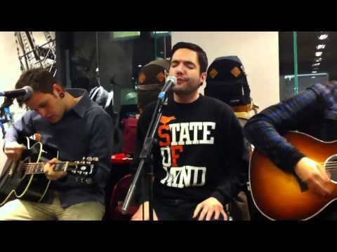 A day to remember all i want acoustic at the eastpak store London 16th november 11 Music Videos