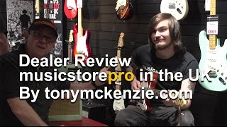 Why a local guitar shop can be better than the internet for buying music gear : tonymckenzie.com