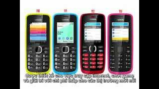 So snh Nokia 110, 111, 112 and 113