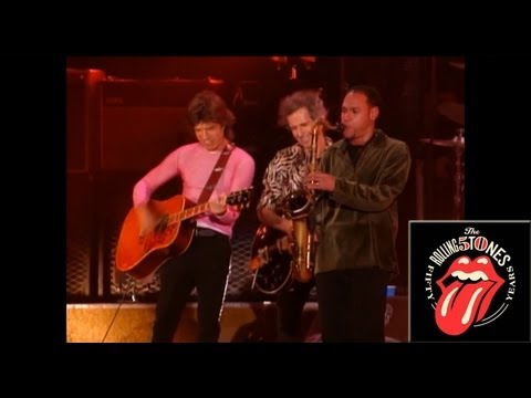 The Rolling Stones - Waiting on a friend (ft. Joshua Redman) (Live)