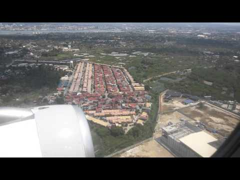 Cebu Pacific 5J 434 - Landing to Cebu at Mactan-Cebu International Airport (04-17-2016)