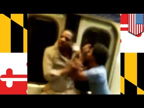 VIDEO: Away sa subway - walang umawat, pero maraming nag-video!