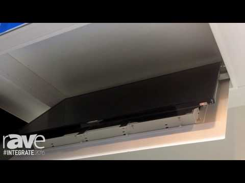 Integrate 2016: Ultralift Australia Shows the Spartan In-Ceiling TV Lift