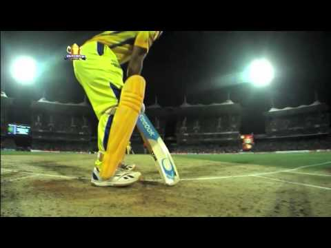 Dhoni's Helicopter Shot Against Dehli Daredevils Ipl 2012 video