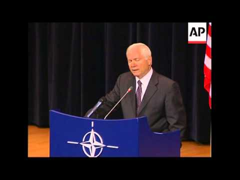 US defence secretary on missile defence, Iran weapons