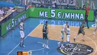 PANATHINAIKOS-MALAGA 103-95 PANATHINAIKOS HIGHLIGHTS