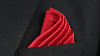 How to fold a Pocket Square | Spiral Staircase