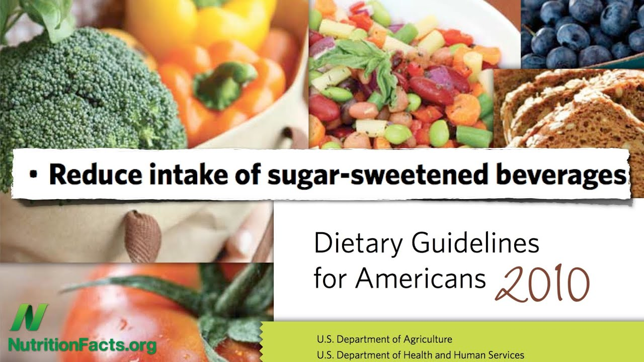 Dietary Guidelines: Just Say No