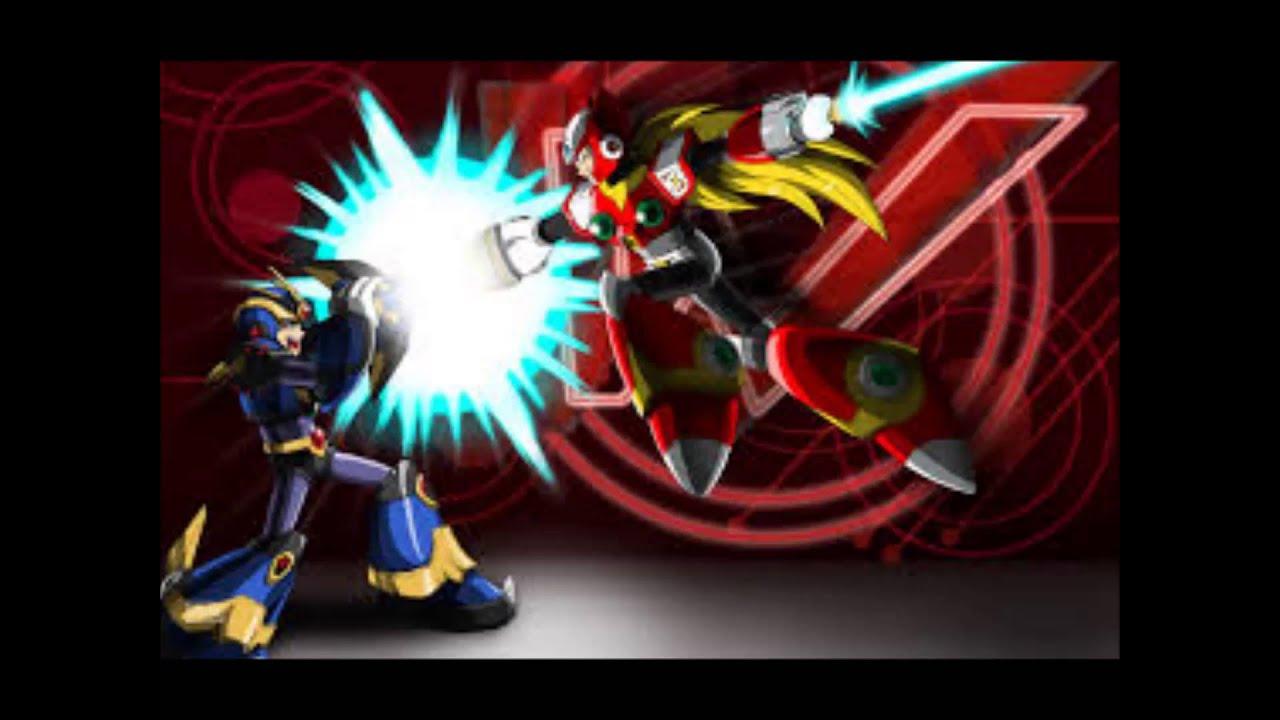 Mega Man X5/X6 OST - X vs Zero - YouTube