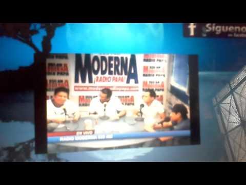 SILVIO VALENCIA   en radio moderna