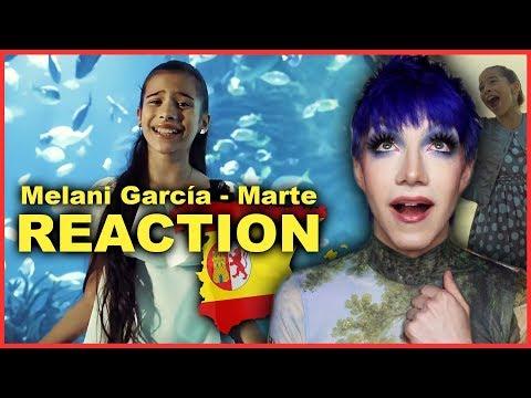 SPAIN - Melani García - Marte (Music Video) | Junior Eurovision 2019 REACTION