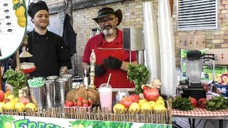 Best Lemonade and Fruit Drink Stall in Brick Lane. London Street Food