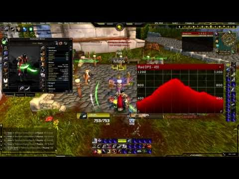 Wow 5.4: Level 1 Twink World Record Dps & Crit (self-buffed) video
