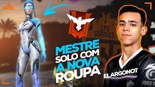 🔴PEGANDO MESTRE EM LIVE NO SOLO RANKED SÓ CAPA!! - FREE FIRE  AO VIVO - LIVE ON