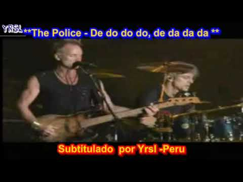 The Police - De Do Do Do (In Spanish)