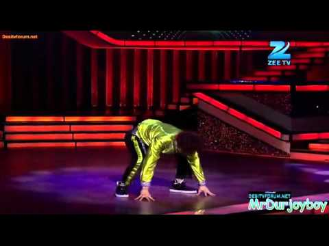 Raghav Crocroach solo performed - Dance India Dance Season 3 10th March 2012