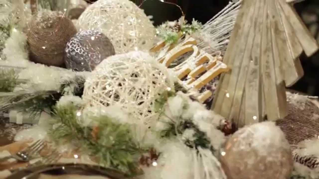 Winter 39 s forest christmas decorating theme 2014 youtube Decorating for christmas 2014