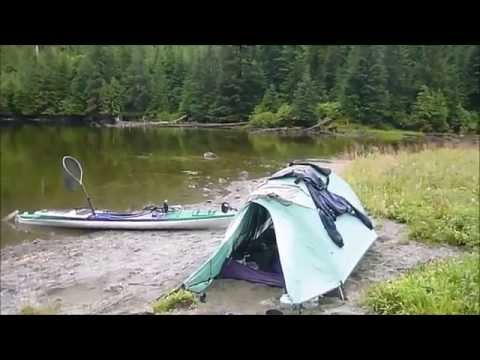 3-week Solo Kayak Camping and Fishing in Alaska one last lake (part 7)