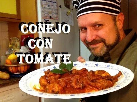 CONEJO CON TOMATE