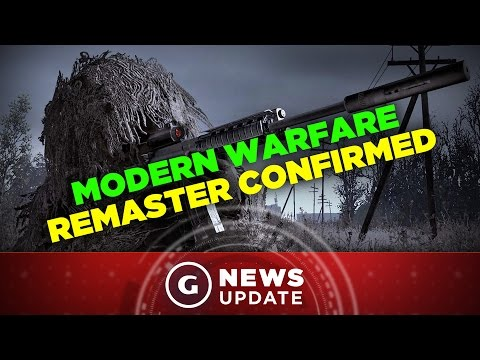 Call of Duty 4 Remaster Confirmed - GS News Update