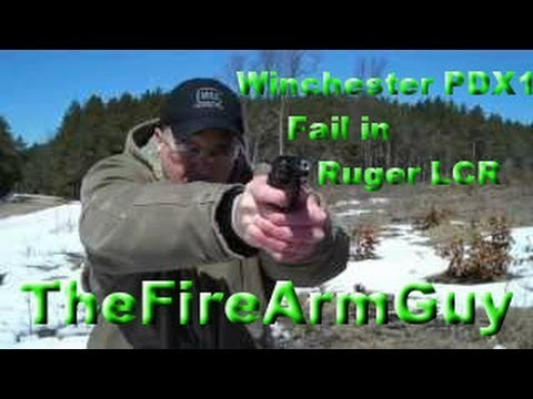 Winchester PDX1 - FAIL in Ruger LCR 22wmr - TheFireArmGuy