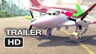 Planes TRAILER 3 (2013) - Val Kilmer, Julia Louis-Dreyfus Disney Animated Movie HD