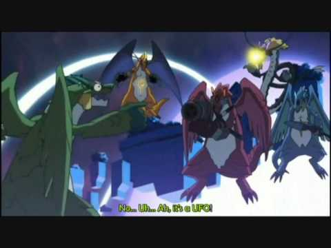 KERORO GUNSOU MOVIE 4 DRAGON SCENE
