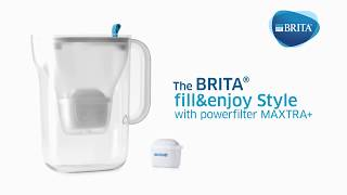 Key Features: BRITA fill&enjoy Style Jug with MAXTRA+ Filter
