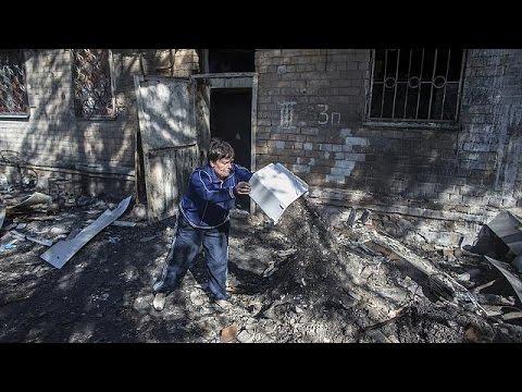 Nuevos combates y bombardeos de artillería en Donetsk