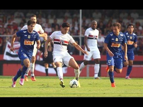Drible de Paulo Henrique Ganso - São Paulo 2 x 0 Cruzeiro Brasileirão 2014