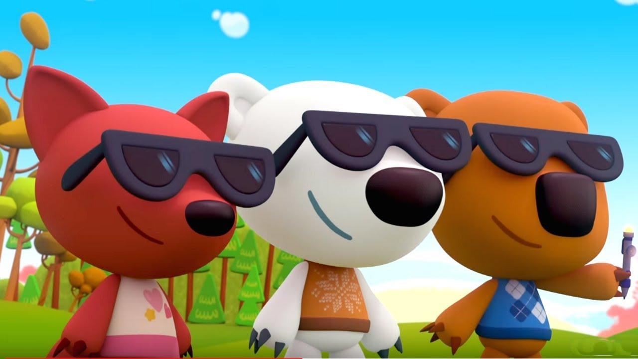 Премьера! Ми-ми-мишки - Излучатель добра - серия 108 - прикольные мультики про мишек и их друзей