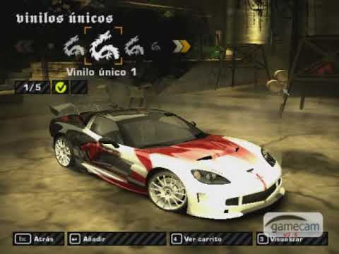 NFSMW - Corvette C6 De Cross