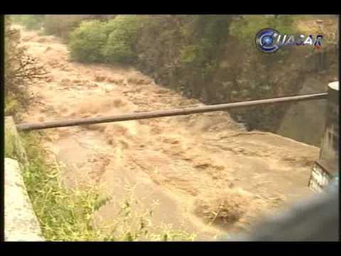 Desborda Rio en Tuxpan