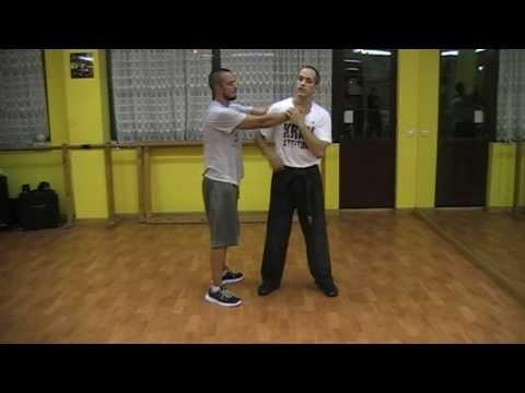 Krav Maga-Defensa contra estrangulamiento lateral